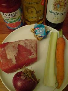 Beef in white wine ingredients