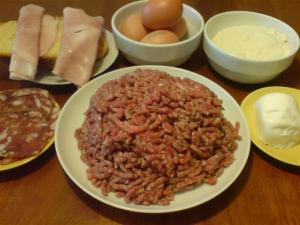 Meatloaf ingredients