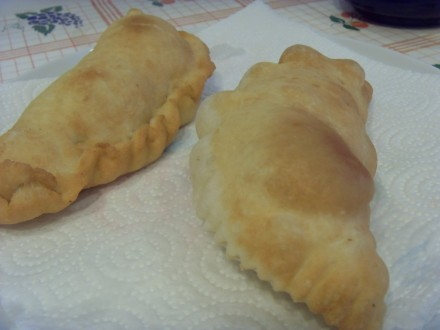 Panzerotti finished dish