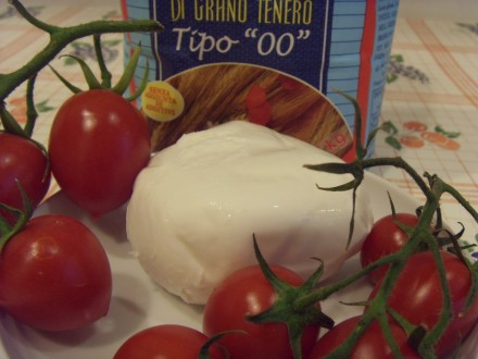 Panzerotti ingredients